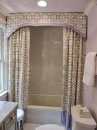 Designer Shower Curtain Decorating Bathroom Bathroom Drop Gorgeous Shower Curtain Decorating Ideas