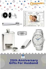 husband anniversary gift ideas 25th silver wedding anniversary gifts for husband hahappy gift