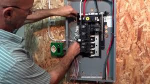 ez generator switch installation youtube