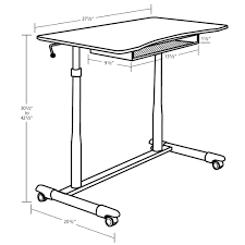 Desk Height Ergonomics Unique Furniture