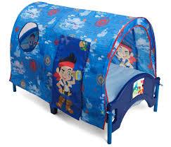 delta childrens jake neverland pirates tent toddler bed