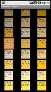 color chart munsell rgb web for android free download on mobomarket