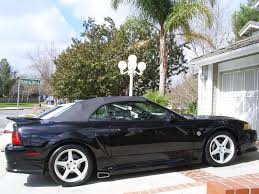 1999 mustang black for sale 1999 mustang gt roush convertible stage ii