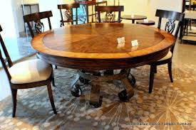 round expanding dining table round designs
