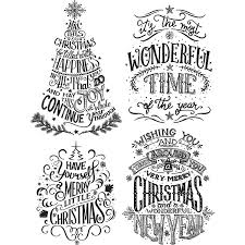 sters anonymous tim holtz doodle greetings 2 st set