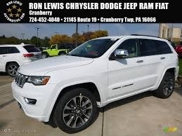 jeep grand cherokee overland 2017 bright white jeep grand cherokee overland 4x4 116412062