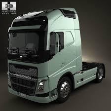 Volvo Fh Tractor Truck 2012 3d Model Hum3d