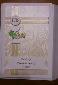 Invitation Card For Holy Communion What To Write On A First Communion Card Communion Messages And
