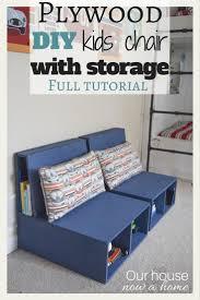 Armchair With Storage Best 25 Storage Chair Ideas On Pinterest Vanity Chairs Diy