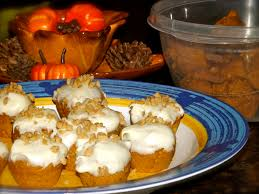 Comfy In The Kitchen by 2 Ingredient Mini Pumpkin Muffins Social Savvy Mom