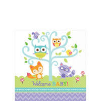 woodland creatures baby shower woodland baby shower party supplies party city