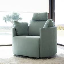 Electric Reclining Armchair Fama Moon Chair With Electric Motion