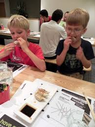 Kids Eating Table Eating In London Wagamama Is Perfect With Kids