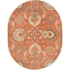 oval floral rugs you u0027ll love wayfair