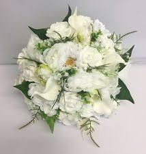 Wedding Flowers Greenery Mixed Bouquet Yes Wedding Flowers Petals U0026 Garlands Ebay