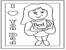 i love you daddy coloring pages gift for dad coloring page gift