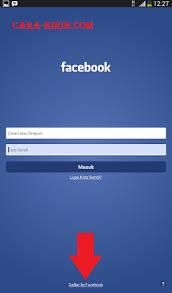 kesulitan membuat akun facebook daftar facebook bahasa indonesia di hp android cara ririn