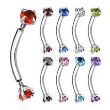 eye piercing rings images Snake eyes piercing jewelry jpg