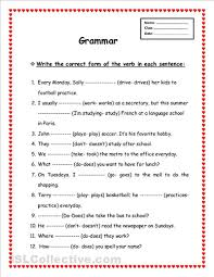 grammar worksheet free worksheets library download and print