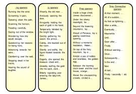 verbs and adverbs starter by sjb1987 teaching resources tes