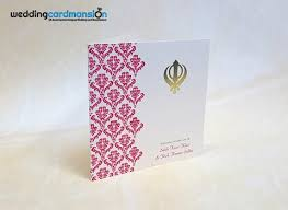 sikh wedding cards sikh hindu wedding cards wedding card mansion
