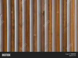 wood and metal slats detail on exterior wall stock photo u0026 stock