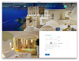 beste website design 30 best hotel apartment vacation home booking themes