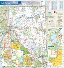 Map Of National Parks In Usa Large Detailed Roads And Highways Map Of Nevada State With