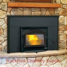 amazon com napoleon 1101 wood burning fireplace insert with heat