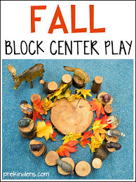 fall block center play ideas block area play ideas and plays
