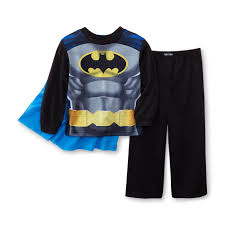 dc comics batman toddler boy s costume pajamas cape