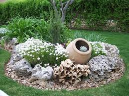 rocks in garden design garden rocks design ideas creative garden decoration planters