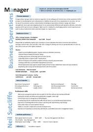 Sample Resume Operations Manager by Sample Resume Internship College Students Resume Ixiplay Free