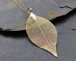 real leaf necklace images Leaf necklace etsy jpg