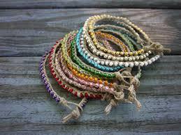 braided hemp necklace images Summer macrame bracelets braided hemp bracelet stacking bracelet jpg