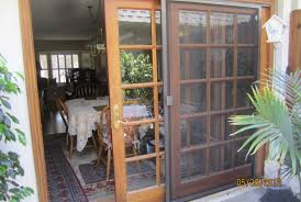 Dog Door For Patio Sliding Door French Door With Dog Door This Way You Have The Option To Later