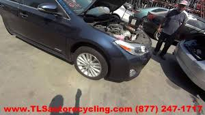 parting out 2015 toyota avalon stock 6264yl tls auto recycling