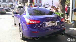 maserati purple maserati ghibli s q4 2013 26 october 2016 autogespot