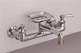 kitchen wall mount faucet strom plumbing p1047 wall mount kitchen faucet