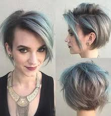 grey streaks in hair 35 good short grey hair ideas short hairstyles haircuts 2017