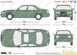 the blueprints com vector drawing rover 75