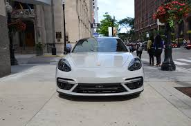 chrome porsche panamera 2017 porsche panamera turbo stock b966a for sale near chicago