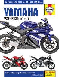 yamaha manuals yamaha yzf r125 2008 11 haynes manual