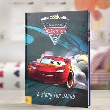 personalized disney cars 3 storybook simply personalized
