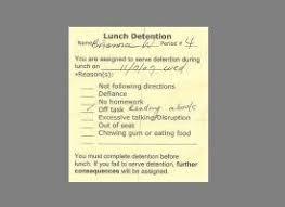 25 ide terbaik detention slips di pinterest penataan sikap