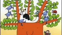 albero vanitoso la nuvola olga e lo scoiattolo nicoletta costa gomitoliamo