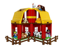 amazon com lego duplo legoville big farm 5649 toys u0026 games