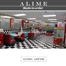 mobilier diner americain alice arf120 personnalisé rétro américain restaurant kiosque diner