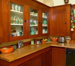 bungalow color in the kitchen craftsman butcher blocks period