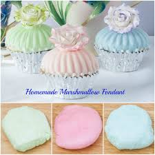 homemade marshmallow fondant art and the kitchen